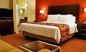 マリオットホテル ベッドルーム