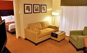 マリオットホテル 室内
