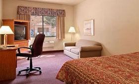 ラマダホテル ベッドルーム