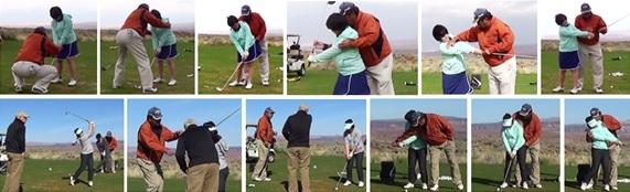 アメリカでのゴルフ短期留学の様子